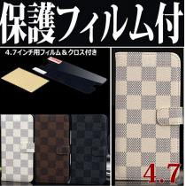 LOUIS VUITTON 年ルイヴィトン厳選アイテム iPhone5/5S ケース コピーダミエ 3色展開IPH5-LV002