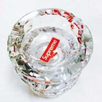 2018 高評価の人気品 Supreme Diamond Cut Crystal Ashtray 灰皿
